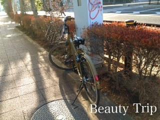 マンション利用者様の迷惑となりますので入口付近へ自転車を置くことはお断りしております。 自転車は道路側の垣根にそって止めてください